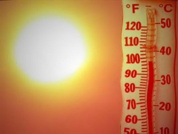 Аномально жаркая погода установилась