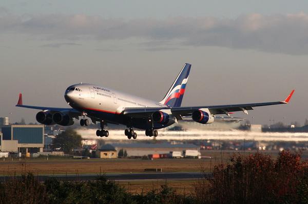 Онлайн табло Aeroflot